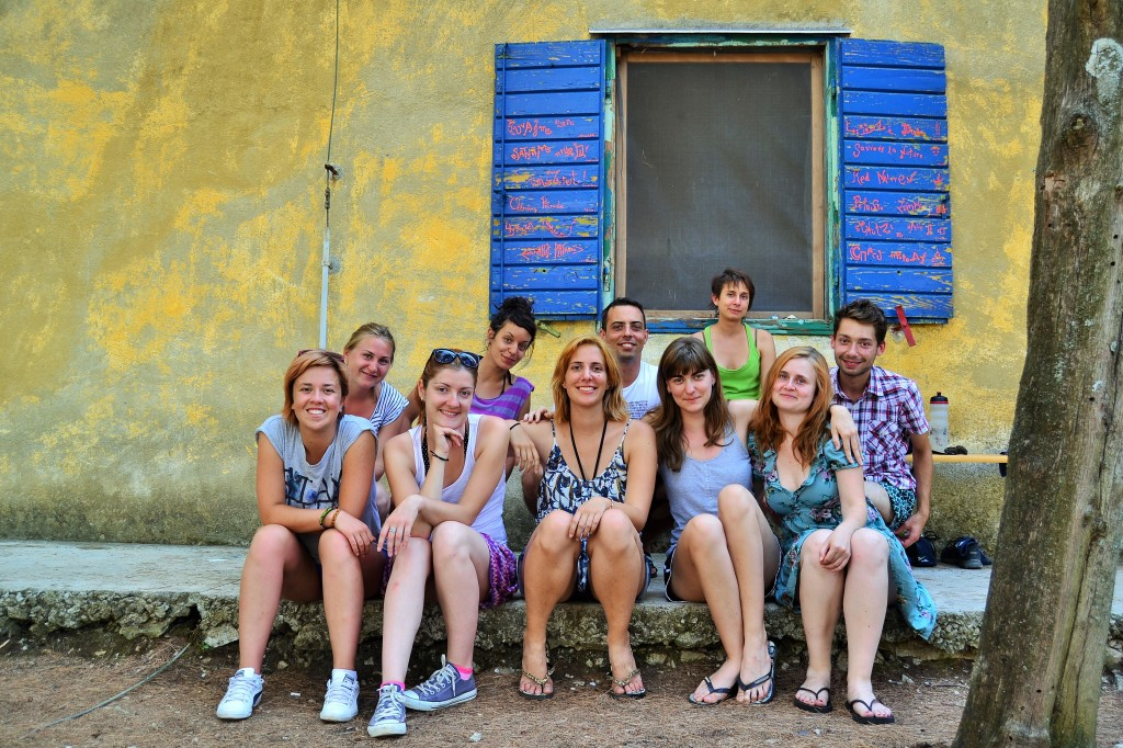 Balkan Youth Climate Movement meeting, Šolta Island, August 2015