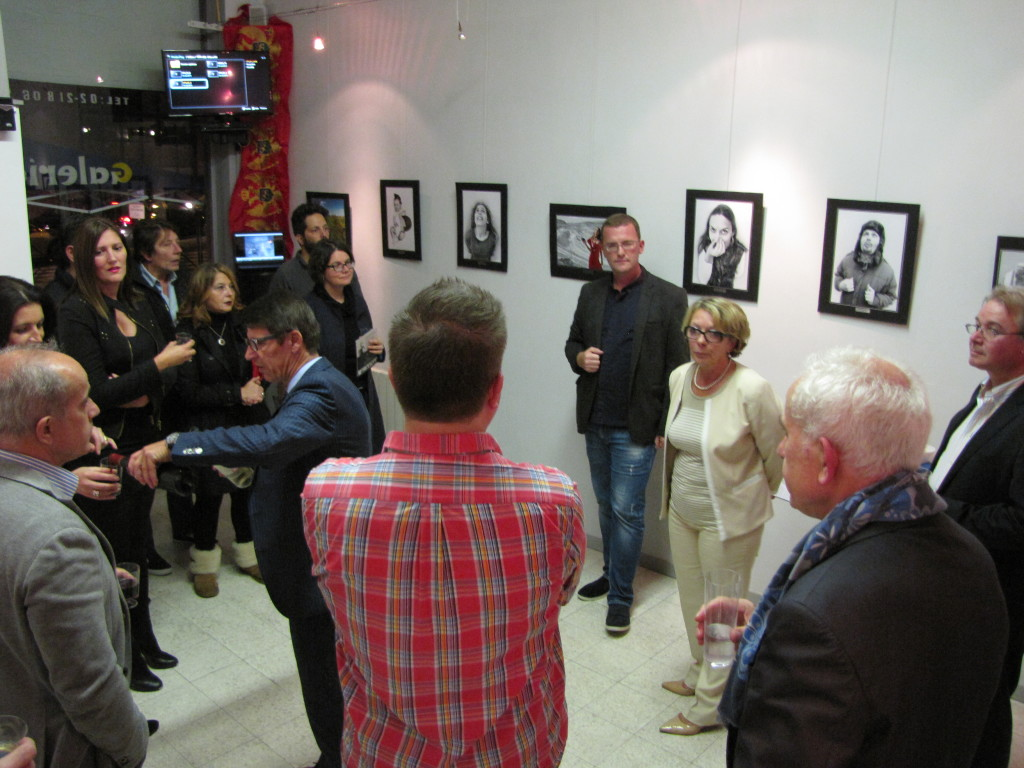 "Photo exhibition ""Expressions of dissaproval"" held in Brussels"