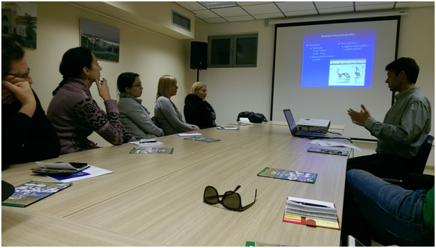 An initial meeting on the Feasibility Study for the Bird Sensitivity Map held in Podgorica