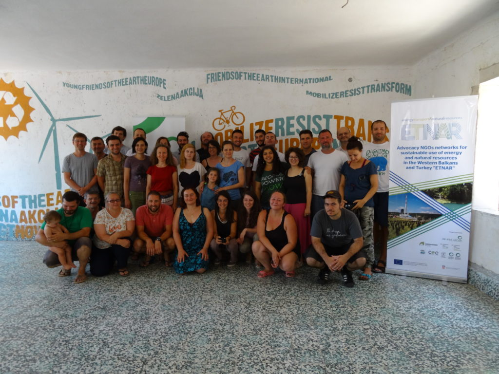 South East European Environmental CSOs network SEENET met at Island of Šolta