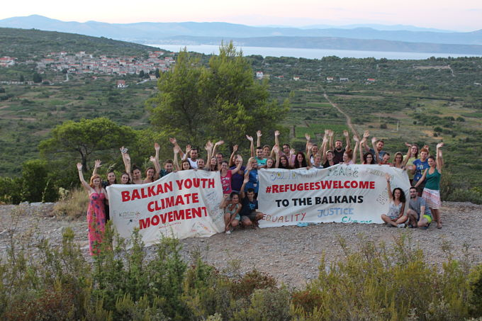 Balkan Youth Climate Movement camp 2016