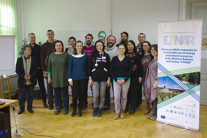 ETNAR project team meeting held in Zagreb