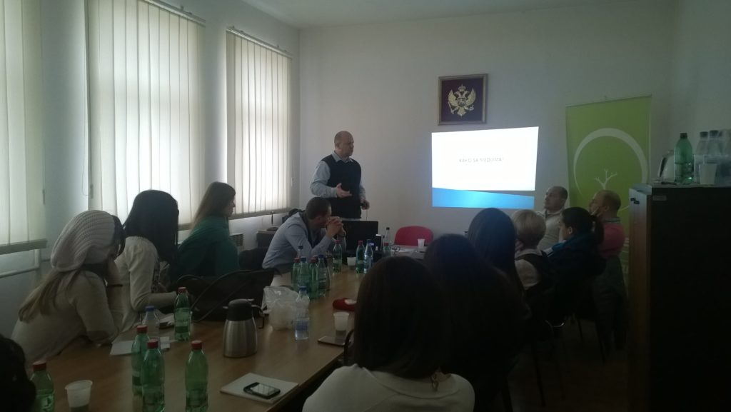 "Training on ""Organization of public campaigns"" held in Berane, Montenegro"